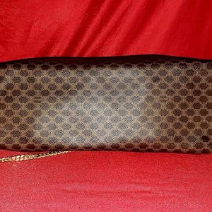 Celine Bags - Celine Macadam PVC Canvas Leather Handbag